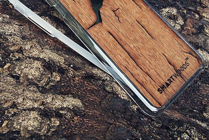 Drewniane obudowy i skiny Smartwoods – piękno płynące z natury